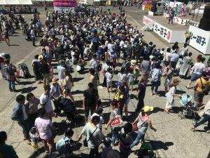北海道で快盗戦隊ルパンレンジャーVS警察戦隊パトレンジャーショー開催しました