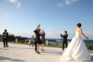 沖縄でのリゾート結婚式の撮影レポート